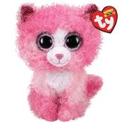 TY BEANIE BOOS - Reagan różowy kot 15cm 36308