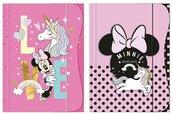 Teczka z gumką A4 Minnie Mouse Kids mix
