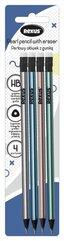 Perłowy ołówek z gumką bls 4szt