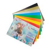 Zeszyt papierów kolor. kred.A5/8K FrozenII (20szt)