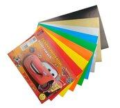 Zeszyt papierów kolor. kred. A5/8K Cars (20szt)