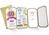 Karnet PM-171 Urodziny 40 2021