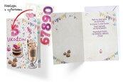 Karnet B6 DK-616 Urodziny (wymienne cyfry)