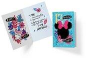 Karnet B6 3DS-014 Urodziny 18 Myszka Minnie