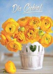 Karnet B6 3DV-110 Dla Ciebie kwiaty