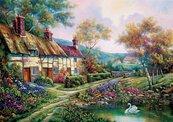 Puzzle 1500 Wiosenny ogród