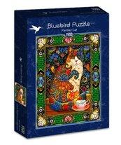 Puzzle 1500 Kolorowy kot