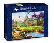 Puzzle 1500 Kolorowa chatka