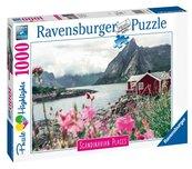 Puzzle 1000 Skandynawski domek