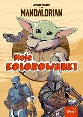 Moje kolorowanki. Star Wars The Mandalorian