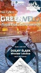 Dolny Śląsk. Wrocław i okolice-cz.wsch. Mapa tras