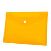 Koperta PP na zatrzask A5 pomarańczowa p12, cena za 1szt