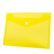 Koperta PP na zatrzask A5 żółta p12, cena za 1szt