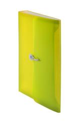 Teczka harmonijkowa PP z gumką (13) A4 żółta