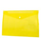 Koperta PP na zatrzask A4 żółta p12 TETIS, cena za 1szt