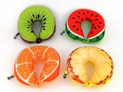 Poduszka podróżna owoce 495753 ADAR cena za 1 szt mix wzorów