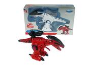 Dinozaur 21cm metal powtarzający światło, dźwięk FY259 cena za 1 szt