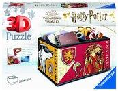 Puzzle 3D 216 Szkatułka Harry Potter