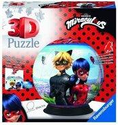 Puzzle 3D 72 Kula: Miraculous