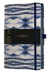 Notatnik 13x21cm linia Castelli Shibori Mist