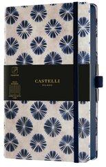 Notatnik 13x21cm linia Castelli Shibori Flowers