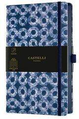 Notatnik 13x21cm linia Castelli Shibori Rings