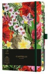Notatnik 13x21cm linia Castelli Eden Leopard