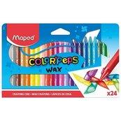 Kredki Colorpeps świecowe 24 kolory MAPED