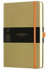 Notatnik 13x21cm linia Castelli Aquarela Olive