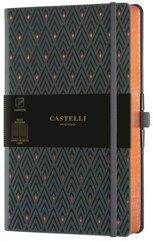 Notatnik 13x21cm linia Castelli Copper Dimonds