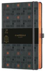 Notatnik 13x21cm linia Castelli Copper Weaving