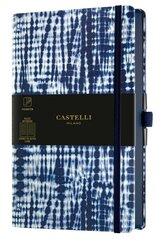 Notatnik 13x21cm linia Castelli Shibori Jute