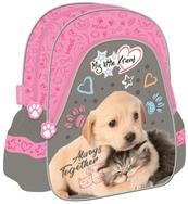 Plecak szkolno - wycieczkowy 12'' trójkątny My Little Friend - Kot Pies CACA