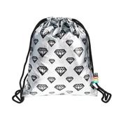Plecak na sznurkach SO-11 silver Diamonds mkmk MAJEWSKI