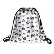 Plecak na sznurkach SO-11 holo Srebrne Korony / Silver Crowns mkmk