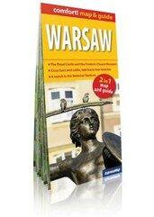 Comfort!map&guide Warszawa (Warsaw) 2w1 mapa