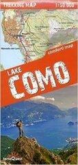 Trekking map Jezioro Como 1:50 000 mapa