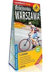 Comfort!map Rowerowa Warszawa 1:29 000 plan miasta