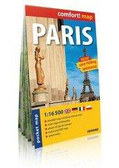 Comfort!map Paris (Paryż) 1:16 500 plan miasta