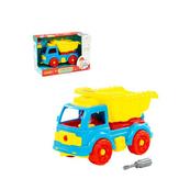 Polesie 84811 Klocki-transport Samochód wywrotka 27 elelmentów w pudełku
