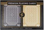 Karty do gry Czarne/Złote