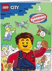LEGO(R) City. Kolorowanka z naklejkami