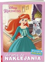 Disney Księżniczka. Ubrania do Naklejania