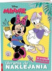 Minnie. Ubrania do Naklejania