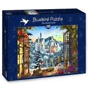 Puzzle 1000 Zamek w górach