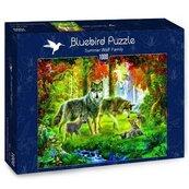 Puzzle 1000 Rodzina wilków