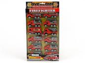 Zestaw 12 aut straży pożarnej 4/146655 ADAR