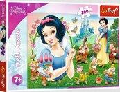 Puzzle 200el Piękna Śnieżka 13278 Trefl