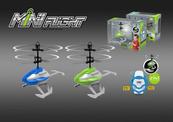 Helikopter na podczerwień, sterowany dłonią lub zegarkiem- pilotem, kabel do ładowania USB; 534889 cena za 1 szt