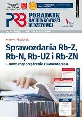 Sprawozdania Rb-Z,Rb-N,Rb-UZ i RB-ZN. Nowe rozporządzenie z komentarzem